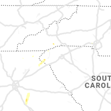 Regional Hail Map for Greenville, SC - Tuesday, April 9, 2019
