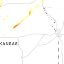 Regional Hail Map for Manhattan, KS - Wednesday, April 10, 2019