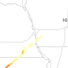 Regional Hail Map for Omaha, NE - Wednesday, April 10, 2019
