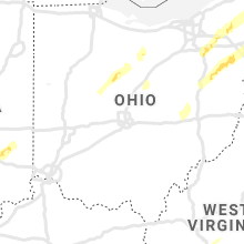 Regional Hail Map for Columbus, OH - Sunday, April 14, 2019
