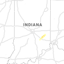 Regional Hail Map for Indianapolis, IN - Sunday, April 14, 2019