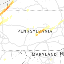 Regional Hail Map for State College, PA - Sunday, April 14, 2019