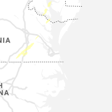 Regional Hail Map for Virginia Beach, VA - Sunday, April 14, 2019