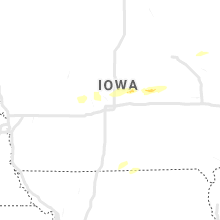 Regional Hail Map for Des Moines, IA - Wednesday, April 17, 2019