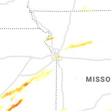 Regional Hail Map for Kansas City, MO - Wednesday, April 17, 2019