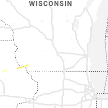 Hail Map for madison-wi 2019-04-17