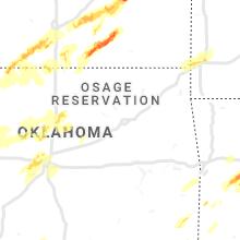 Hail Map for tulsa-ok 2019-04-17