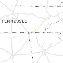 Regional Hail Map for Chattanooga, TN - Friday, April 19, 2019