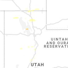 Regional Hail Map for Salt Lake City, UT - Friday, April 26, 2019