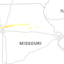Regional Hail Map for Columbia, MO - Sunday, April 28, 2019