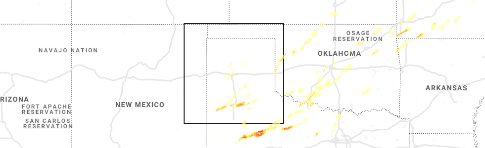 Map Of Texas Amarillo.Interactive Hail Maps Hail Map For Tuesday April 30 2019