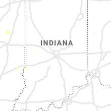 Regional Hail Map for Indianapolis, IN - Tuesday, April 30, 2019