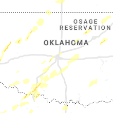 Regional Hail Map for Oklahoma City, OK - Tuesday, April 30, 2019
