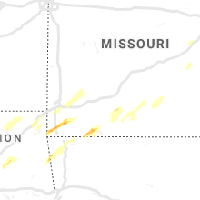 Regional Hail Map for Springfield, MO - Tuesday, April 30, 2019