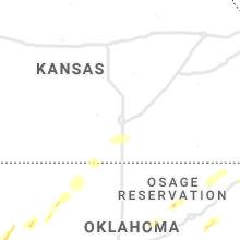 Regional Hail Map for Wichita, KS - Tuesday, April 30, 2019