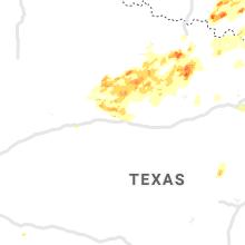 Regional Hail Map for Abilene, TX - Wednesday, May 1, 2019