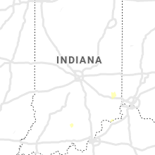 Regional Hail Map for Indianapolis, IN - Wednesday, May 1, 2019