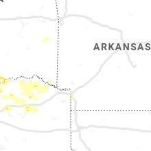 Regional Hail Map for Nashville, AR - Wednesday, May 1, 2019