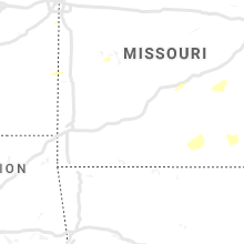 Regional Hail Map for Springfield, MO - Wednesday, May 1, 2019