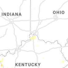 Hail Map for cincinnati-oh 2019-05-02
