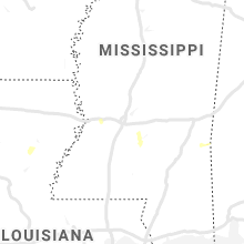 Regional Hail Map for Jackson, MS - Friday, May 3, 2019