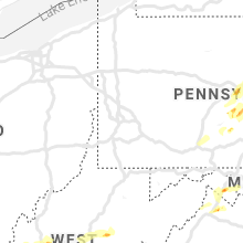 Regional Hail Map for Pittsburgh, PA - Friday, May 3, 2019