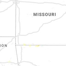 Regional Hail Map for Springfield, MO - Friday, May 3, 2019