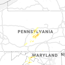 Regional Hail Map for State College, PA - Friday, May 3, 2019
