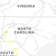 Regional Hail Map for Raleigh, NC - Saturday, May 4, 2019