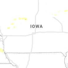 Regional Hail Map for Des Moines, IA - Sunday, May 5, 2019