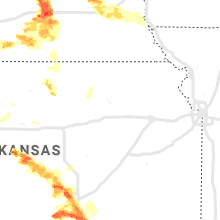 Regional Hail Map for Manhattan, KS - Sunday, May 5, 2019