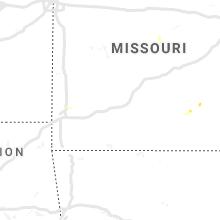 Regional Hail Map for Springfield, MO - Tuesday, May 7, 2019