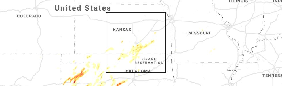 Interactive Hail Maps - Hail Map for Derby, KS