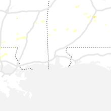 Regional Hail Map for Mobile, AL - Thursday, May 9, 2019