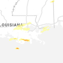 Regional Hail Map for New Orleans, LA - Saturday, May 11, 2019