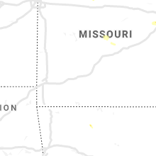 Regional Hail Map for Springfield, MO - Tuesday, May 14, 2019