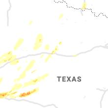 Regional Hail Map for Abilene, TX - Friday, May 17, 2019