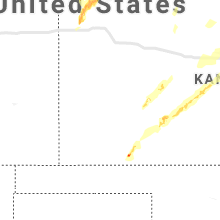 Regional Hail Map for Garden City, KS - Friday, May 17, 2019