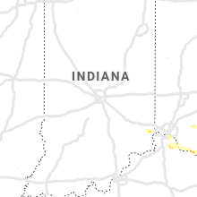 Regional Hail Map for Indianapolis, IN - Friday, May 17, 2019
