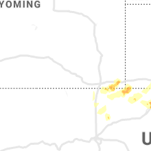 Regional Hail Map for Laramie, WY - Friday, May 17, 2019