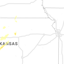 Regional Hail Map for Manhattan, KS - Friday, May 17, 2019