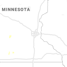 Regional Hail Map for Minneapolis, MN - Friday, May 17, 2019