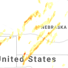 Hail Map for north-platte-ne 2019-05-17