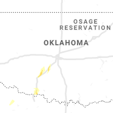 Regional Hail Map for Oklahoma City, OK - Friday, May 17, 2019
