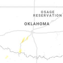 Regional Hail Map for Oklahoma City, OK - Friday, May 17, 2019