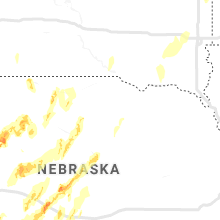 Regional Hail Map for Oneill, NE - Friday, May 17, 2019