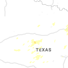 Regional Hail Map for Abilene, TX - Saturday, May 18, 2019