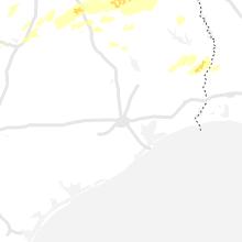 Regional Hail Map for Houston, TX - Saturday, May 18, 2019