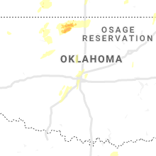 Regional Hail Map for Oklahoma City, OK - Saturday, May 18, 2019