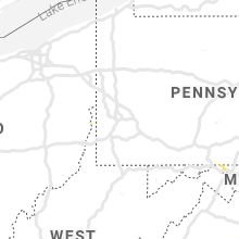 Regional Hail Map for Pittsburgh, PA - Saturday, May 18, 2019